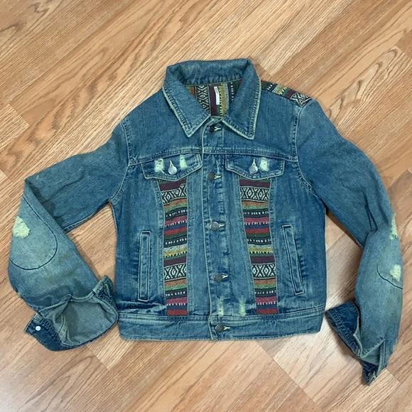 free people woman's Jean jacket